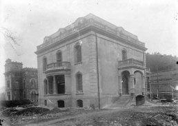 Casa Juncosa en procés de construcció, 1920 (ACGAX. Fons Sadurní Brunet Pi. Autor: Sadurní Brunet)