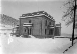 Casa Juncosa, en procés de construcció, 1920 (ACGAX. Fons Sadurní Brunet Pi. Autor: Sadurní Brunet)