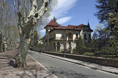 Vista general de la casa Pons i Tusquets, 2012 (ACGAX. Col·lecció d'imatges de l'ACGAX. Autor: Pep Sau)