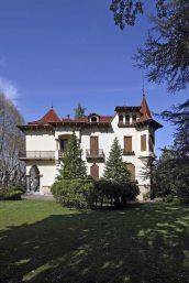 Vista lateral de la casa Pons i Tusquets, 2012 (ACGAX. Col·lecció d'imatges de l'ACGAX. Autor: Pep Sau)