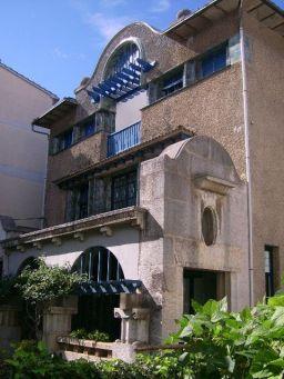 Vista lateral de la façana de la casa Masramón, s. d. (Foto: https://ca.wikipedia.org)