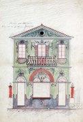 Projecte de decoració de la casa Farigola, 1926