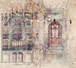 Projecte de la casa Ricart, 1913