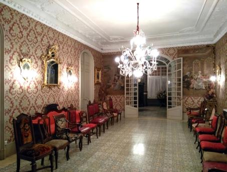Vista parcial de l'interior casa Pons i Tusquets, 2018 (Foto: Arnau Vergés)