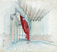Projecte de disseny del saló de la casa Gassiot, 1914