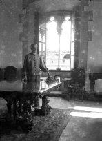 Interior del castell de Sant Mori, 1946 (ACGAX. Fons Sadurní Brunet Pi. Autor: Sadurní Brunet)