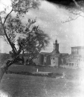 Vista general del poble de Sant Mori, 1946 (ACGAX. Fons Sadurní Brunet Pi. Autor: Sadurní Brunet)