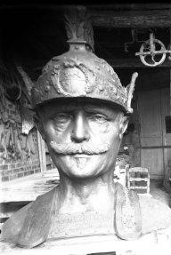Cap del gegant de Calella, 1935 (ACGAX. Fons Sadurní Brunet Pi. Autor: Sadurní Brunet)