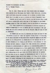 Correspondència sobre la reforma dels altars de l'església de Sant Julià, a Fortià, 1949
