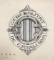 Proposta de logotip per a la Generalitat de Catalunya, 1928