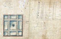 Proposta d'enteixinat per al sostre de la sucursal de la banca Saderra, Prat y Compañía, a Banyoles, 1916