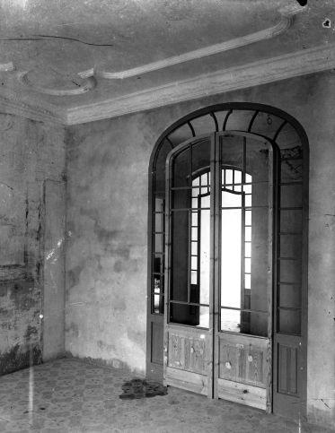 Vista parcial de l'interior de l'Hotel del Parc, 1918 (ACGAX. Fons Sadurní Brunet Pi. Foto: Sadurní Brunet)