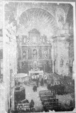 Església de Santa Eulàlia de Noves, a Garriguella, 1925 (foto: Vicenç Fargnoli)