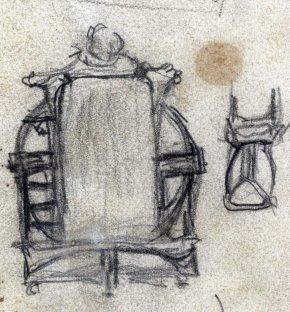 Esborranys de mobles, 1909