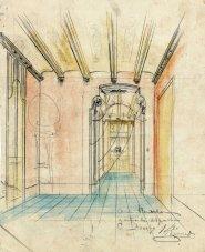 Projecte decoratiu de l'interior de la casa Hostench, 1915