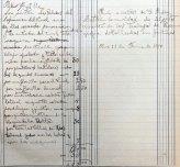 Anotacions de feines relacionades amb escenografies, 11.6.1910 (ACGAX. Fons Sadurní Brunet Pi. Dietaris)