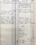 Anotacions de feines relacionades amb escenografies, 8.8.1910 (ACGAX. Fons Sadurní Brunet Pi. Dietaris)