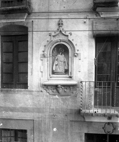 Capelleta de la Verge de la Guia, a Olot, 1915 (ACGAX. Fons Sadurní Brunet Pi. Autor: Sadurní Brunet)
