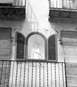 Capelleta de la Verge de la Guia, a Olot, 1961 (ACGAX. Col·lecció d'imatges de Josep M. Dou Camps. Autor: Josep M. Dou)