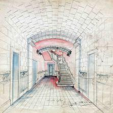 Projecte de reforma d'un vestíbul, 1920
