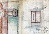 Projecte de reforma d'un interior, sense localitzar, entre els anys 1910 i 1922