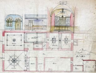 Projecte de reforma de la casa Blanch, a Argelaguer, 1914