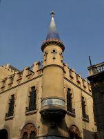 Vista parcial de la casa Comas d'Argemir, a Barcelona, 2017 (https://ca.wikipedia.org/wiki/Casa_Comas_d%27Argemir