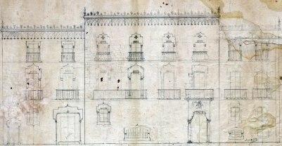 Projecte de reforma d'una casa a Barcelona, entre els anys 1909 i 1912