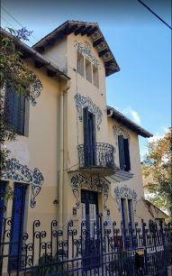 Vista parcial de la Vil·la Magda, a Barcelona, 2017, http://www.residenciavillamagda.com/