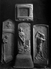 Projectes per a la tomba de Salvador Coderch, a Sant Joan les Fonts, 1926 (ACGAX. Fons: Sadurní Brunet Pi. Autor: Sadurní Brunet)