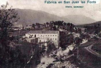 Reproducció fotogràfica de la fàbrica de Salvador Coderch (data i autor desconeguts)
