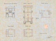 Plànol de la casa Farigola, 1926 (ACGAX. Fons Ajuntament d'Olot. Expedient de llicència d'obres)