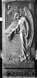 Esbós de la làpida de la família Bustins Quintana, c. 1927 (ACGAX. Fons Sadurní Brunet Pi. Autor: Sadurní Brunet)