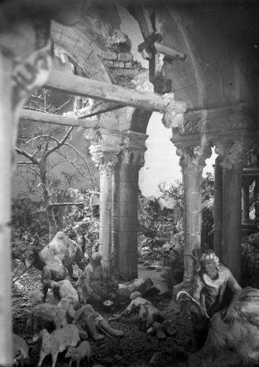 Pessebre fet per Sadurní Brunet, c. 1920 (ACGAX. Fons Sadurní Brunet Pi. Autor: Sadurní Brunet)