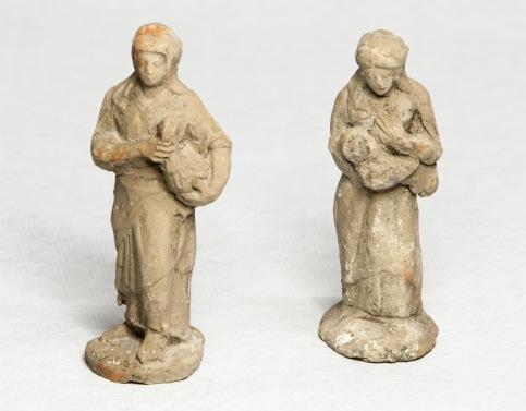 Esbossos de figures de pessebre, 2018 (ACGAX. Col·lecció d'imatges de l'ACGAX. Autors: Quim Roca i Anna Rius)