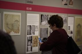 Inauguració i visita guiada exposició Sadurní Brunet, 19.5.2018 (Foto: Jordi Ferrarons)