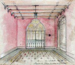 Projecte del saló de la casa Ricart, 1913