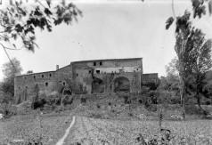 Vista general de can Ribes, a la Cellera de Ter, 1918 (ACGAX. Fons Sadurní Brunet Pi. Autor: Sadurní Brunet)